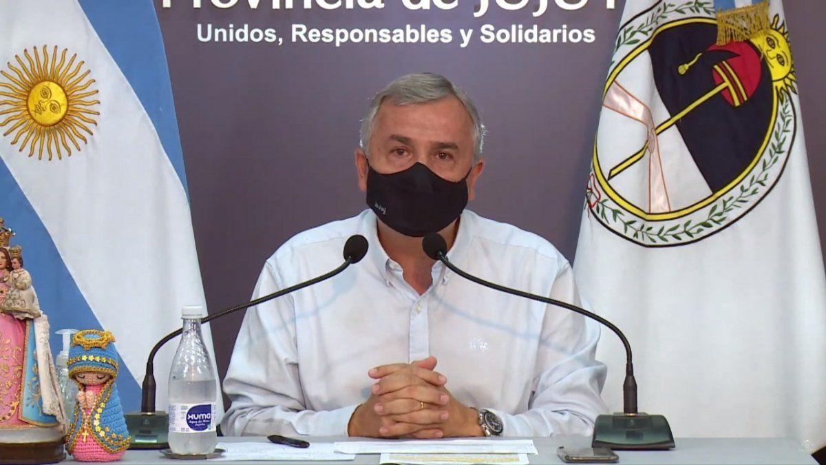 El Gobernador Morales anunció que se restringe la circulación nocturna