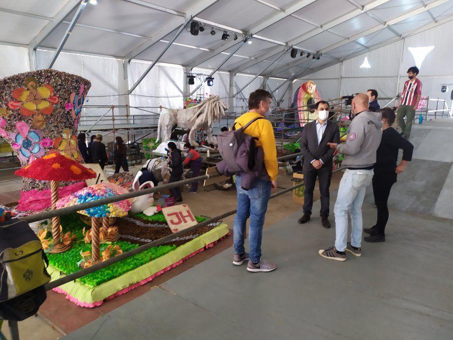 Se ajustan detalles en los protocolos de bioseguridad para la muestra de carrozas en la Ciudad Cultural