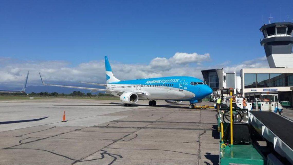 Aerolíneas Argentinas dispone más vuelos a Jujuy