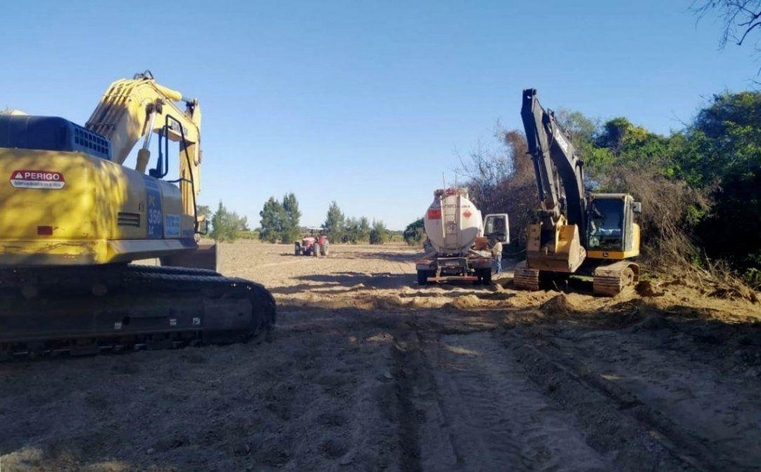 Plan Hídrico Provincial: avances en el interior y nuevas obras en la capital