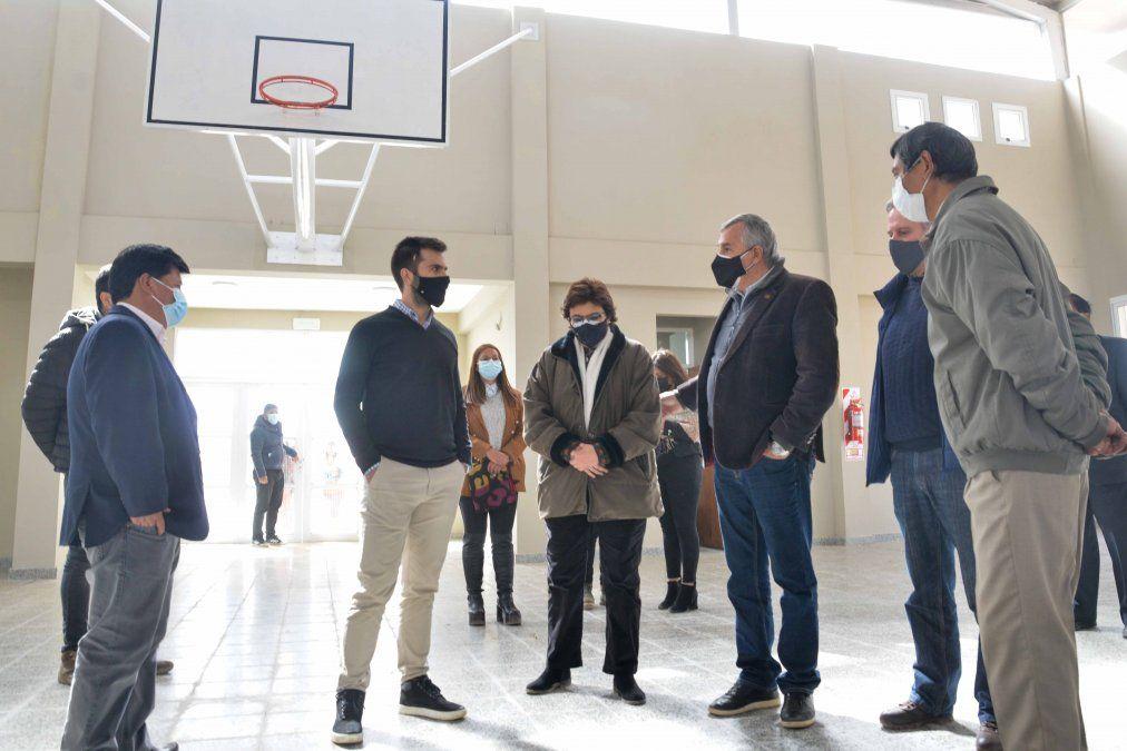Morales inauguró el Polimodal N° 2 en Abra Pampa