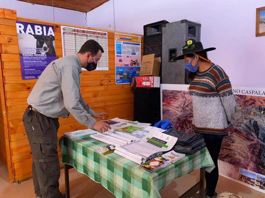 Saneamiento y educación ambiental en Caspalá