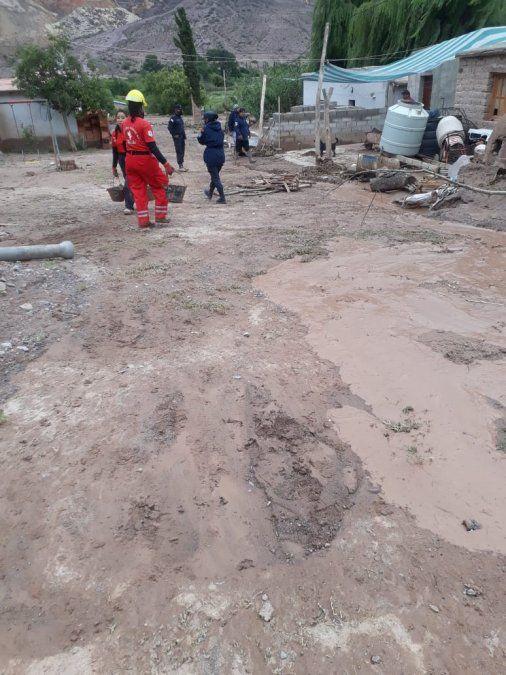 Se normaliza la situación en la Quebrada tras un fuerte temporal