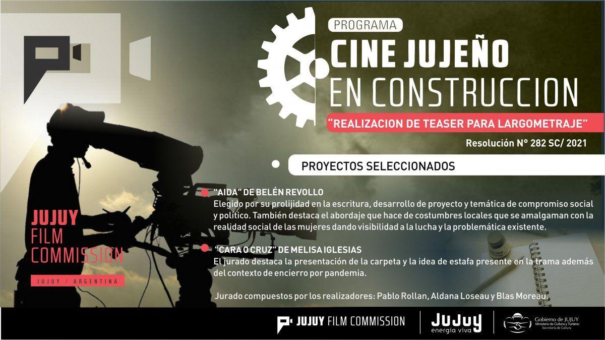 Tiene ganadoras el 1er Concurso del Programa Cine Jujeño en Construcción