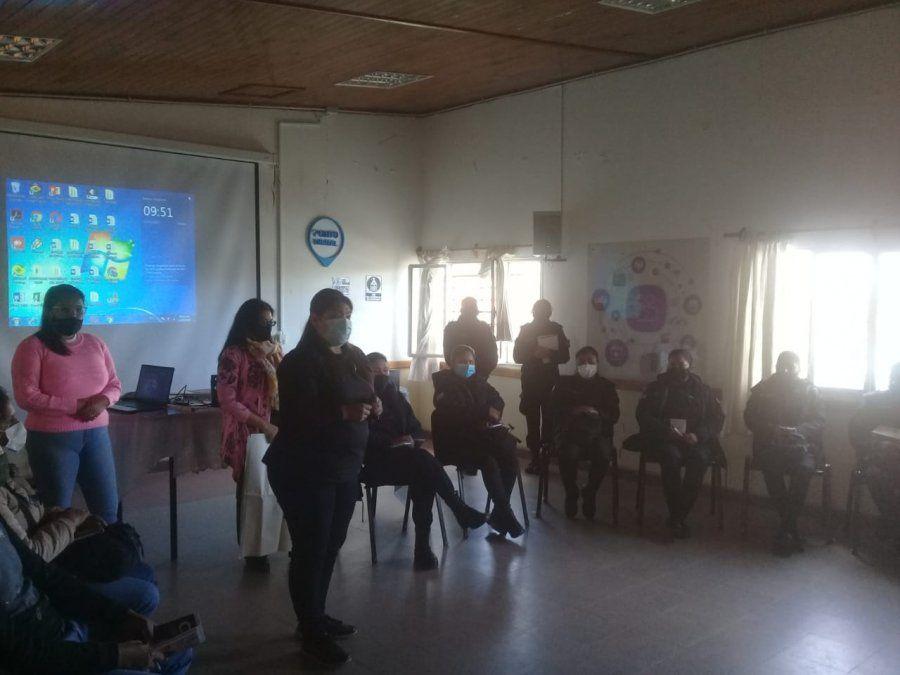 Efectivos de La Quiaca y Abra Pampa recibieron formación sobre Violencia de Género