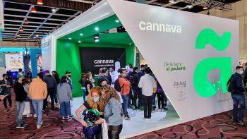 Cannava se luce en el pabellón medicinal de la Expo Cannabis