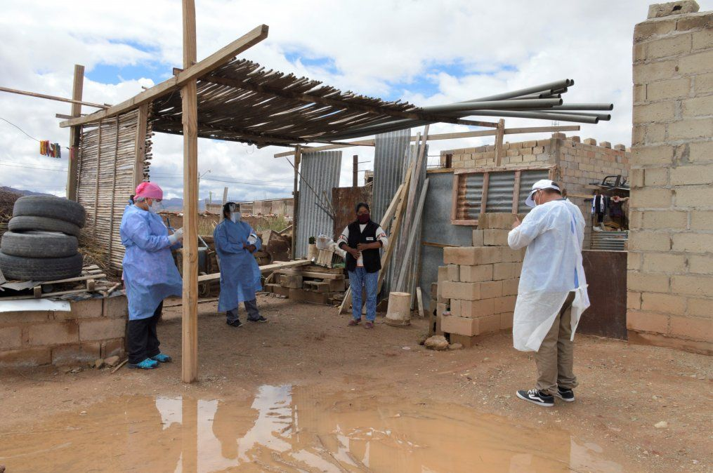 Inició operativo sanitario en la localidad de Abra Pampa
