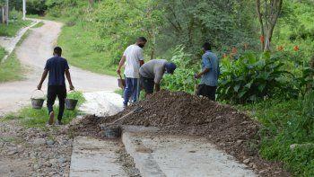Infraestructura, en últimos tramos de obras en Bella Vista