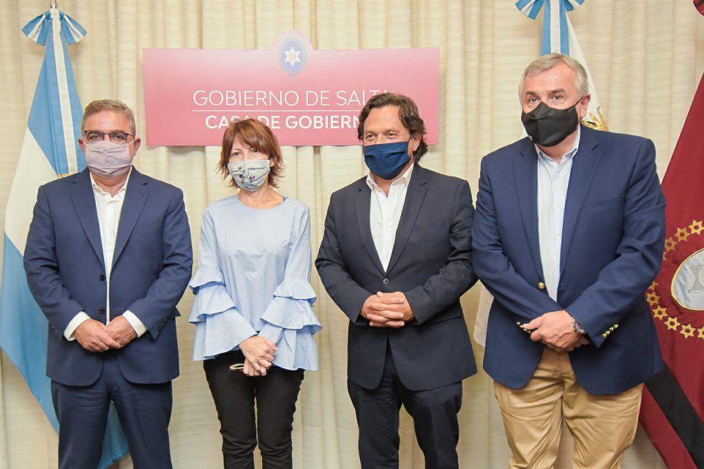 Gobernadores de Jujuy, Salta y Catamarca integran la Mesa del Litio