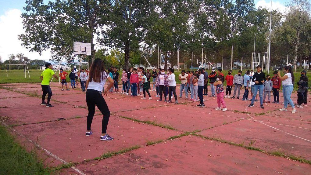 Garantizamos el derecho a la recreación de la niñez Rodeíto, Lobatón y San Lucas