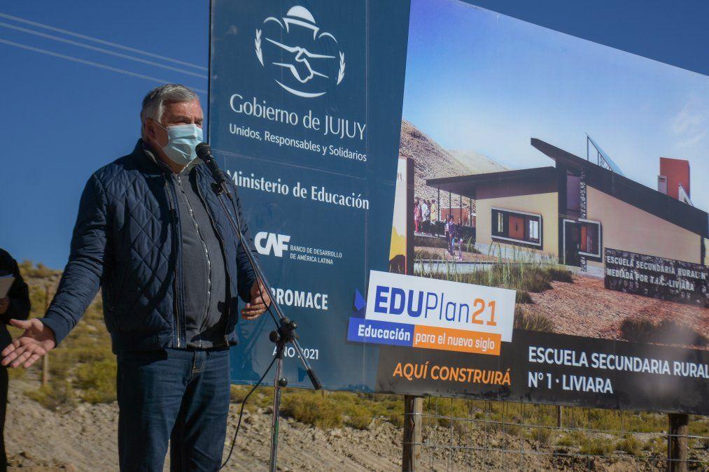Comenzó la construcción de la Escuela Secundaria Rural de Liviara