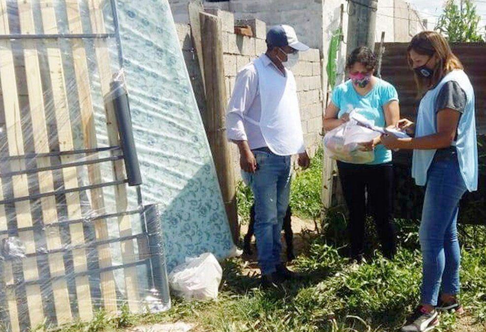 Familias de Capital y Palpalá recibieron elementos de primera necesidad por parte de Desarrollo Humano