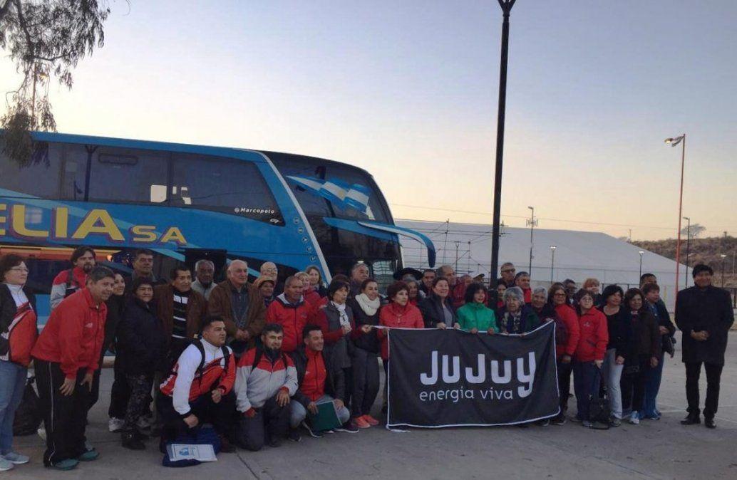 Delegación de Adultos Mayores partieron a Pinamar