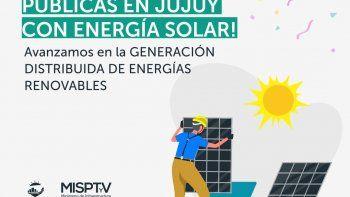 El MISPTyV, con energía solar para generación distribuida