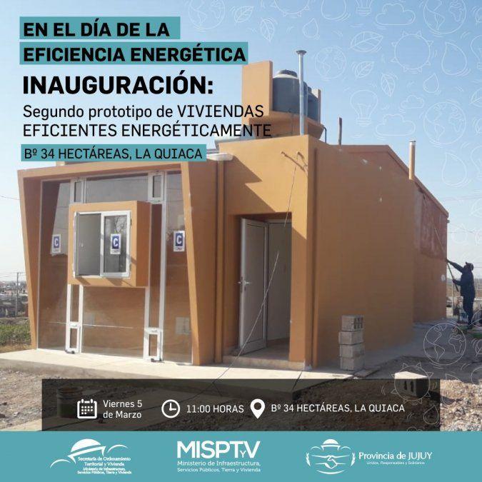 Listo el 2º prototipo de vivienda eficiente en La Quiaca