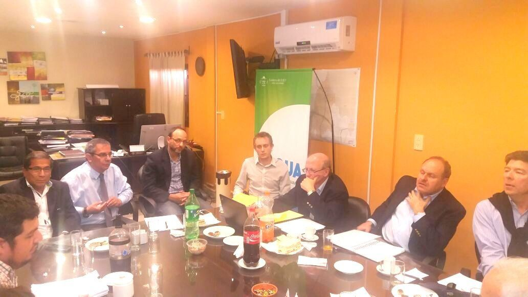 Autoridades del Banco Mundial se reunieron con el Directorio de Agua Potable de Jujuy para la formulación de proyectos