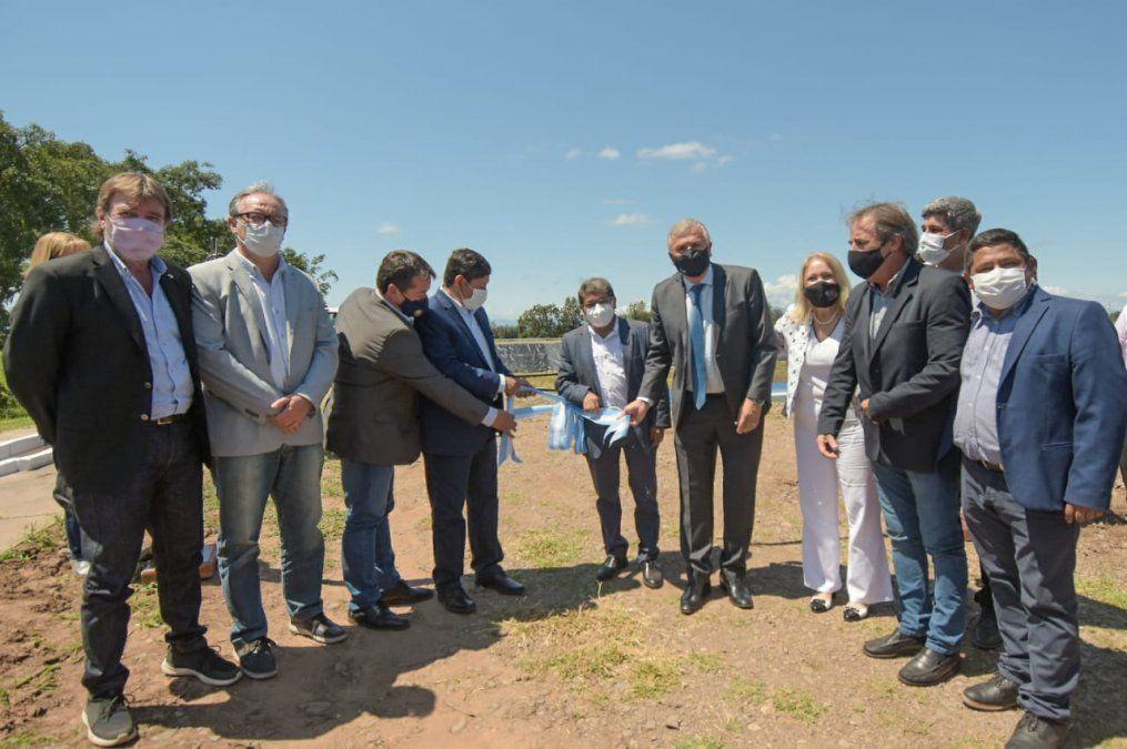 Inauguraron Sistema Integral de Saneamiento para Monterrico