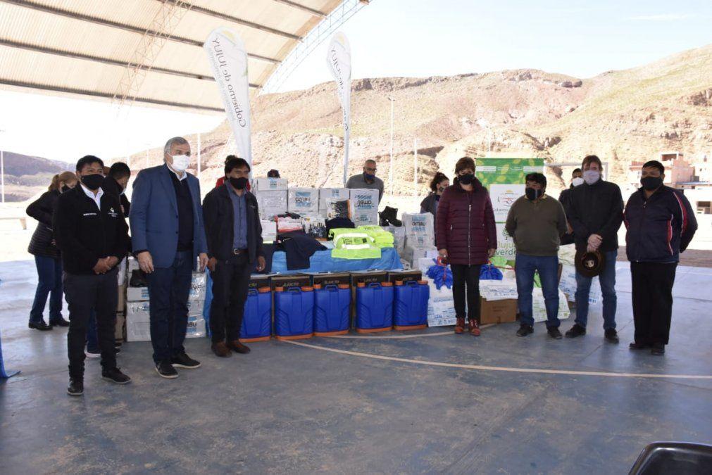 Nueva entrega de insumos y recursos para la gestión de residuos