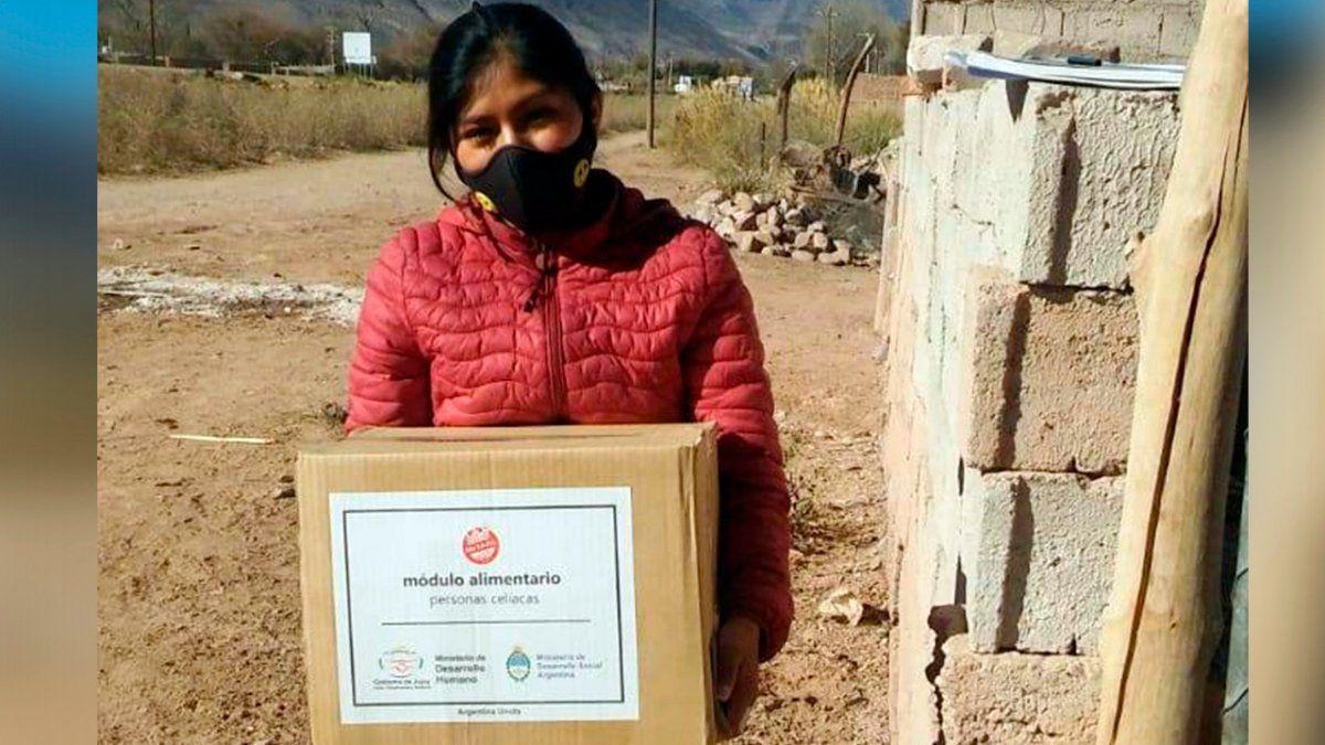 Entrega de Módulos Alimentarios sin TACC en localidades del interior
