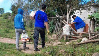 Familias de Pampichuela recibieron las Unidades Alimentarias