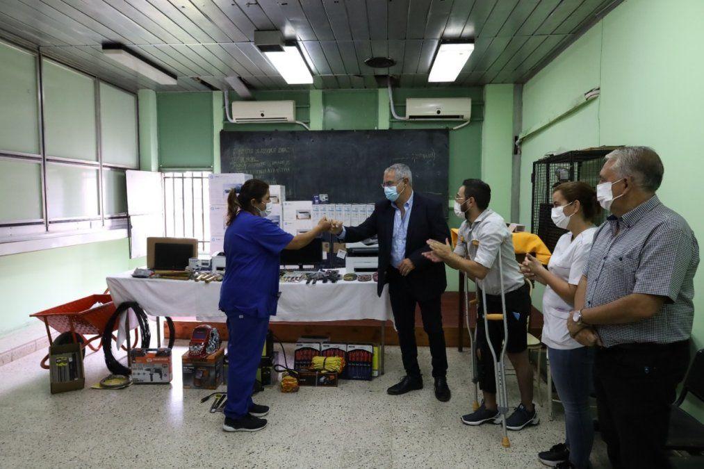 El Hospital Paterson moderniza los procesos de las distintas áreas