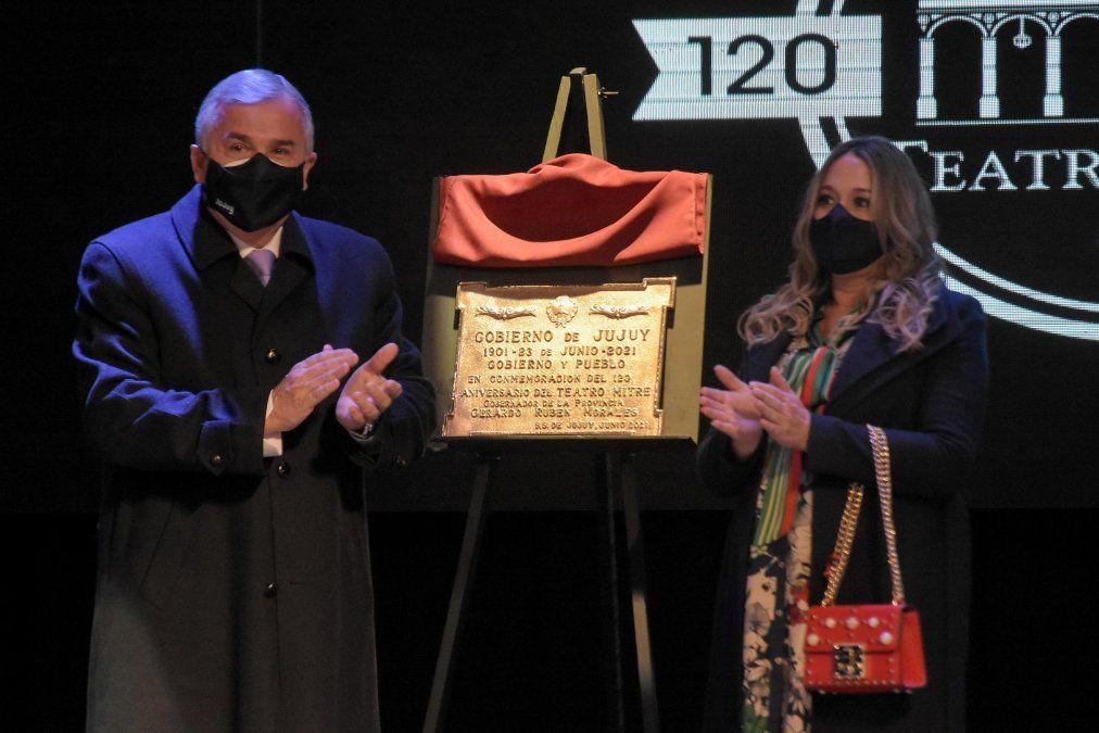 Gerardo Morales: El Teatro Mitre es icono de la cultura jujeña
