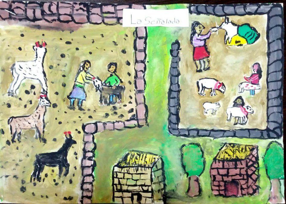 Dibujo ganador de la primera edición del concurso.