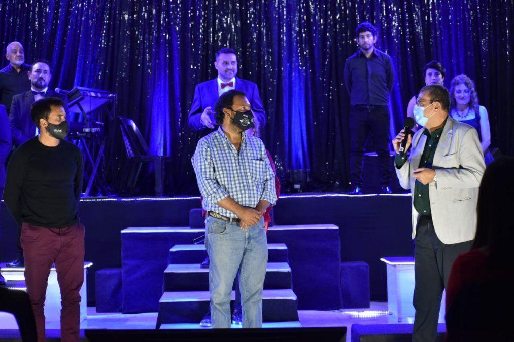 Jayat agradeció a Posadas y Medina Zar por llevar el Teatro a toda la Provincia