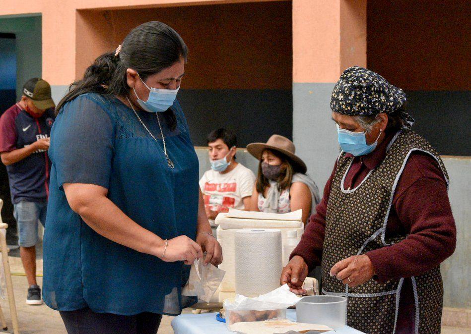 Acompañamiento a mujeres Productoras de Queso en Puesto del Marqués.