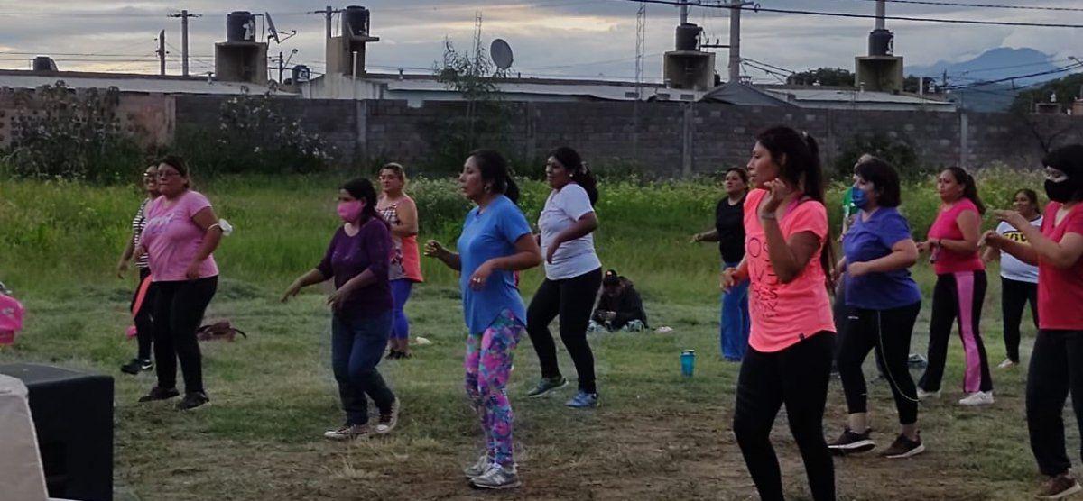 Amplia participación de la gente en actividades del programa