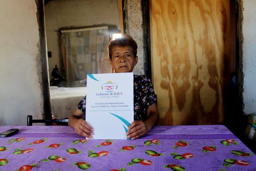 Mejora habitacional para ciudadana con tratamiento oncológico