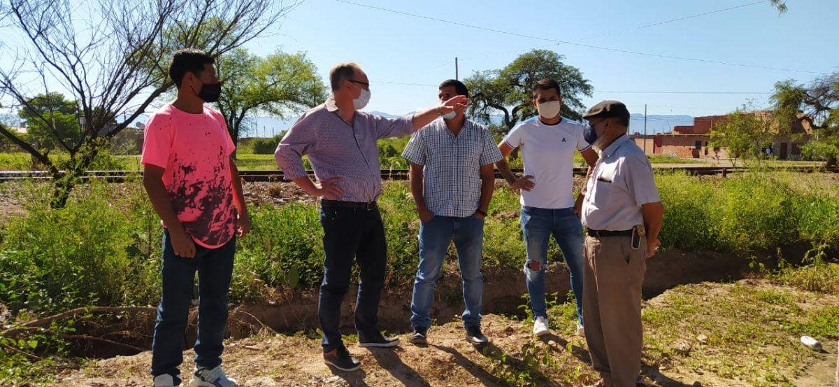 Se acordaron próximas obras en Pampa Blanca entre el Ministerio de Infraestructura y el municipio.