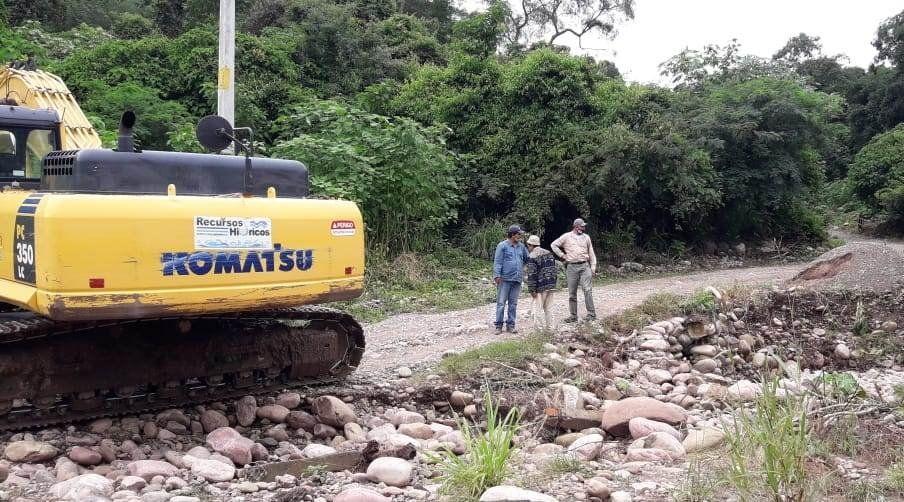 Trabajos de Hídricos en RP 20.