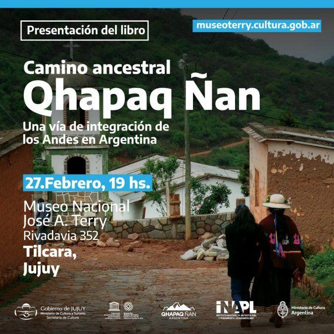 Presentarán libro sobre Qhapaq Ñan