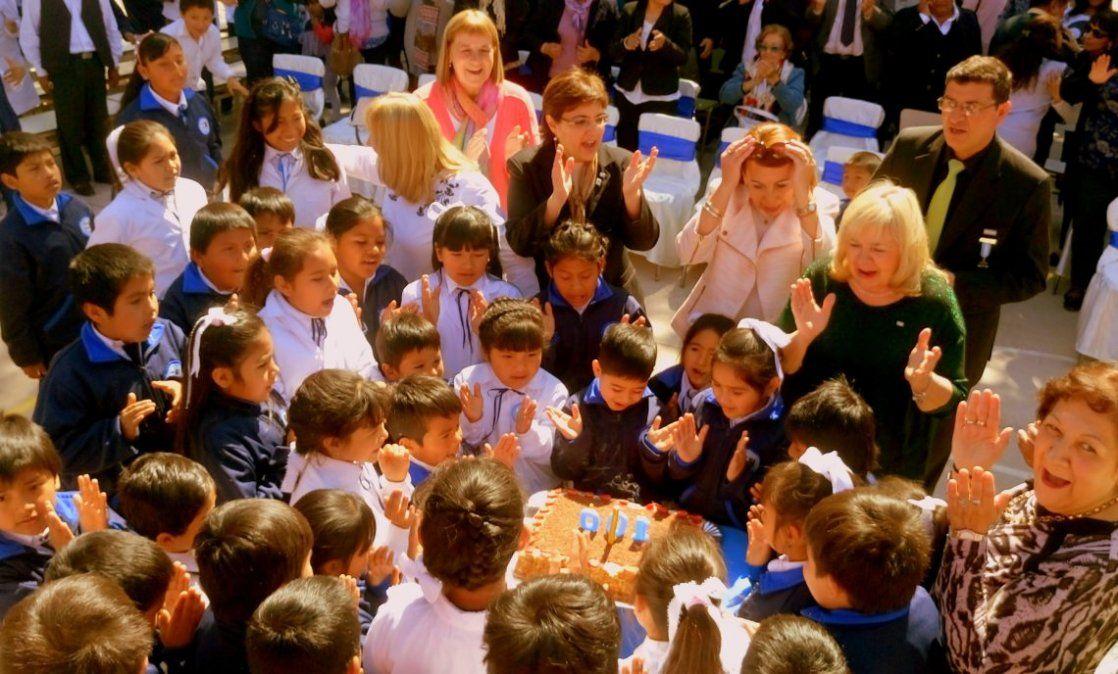 Lucido festejo por el centenario de la Escuela N° 307 San José de Calazans