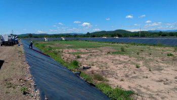 Monterrico: avance de obra del 90% en la moderna planta depuradora de líquidos cloacales y la red domiciliaria