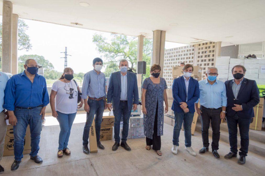 Municipios de la región reciben recursos del Plan GIRSU
