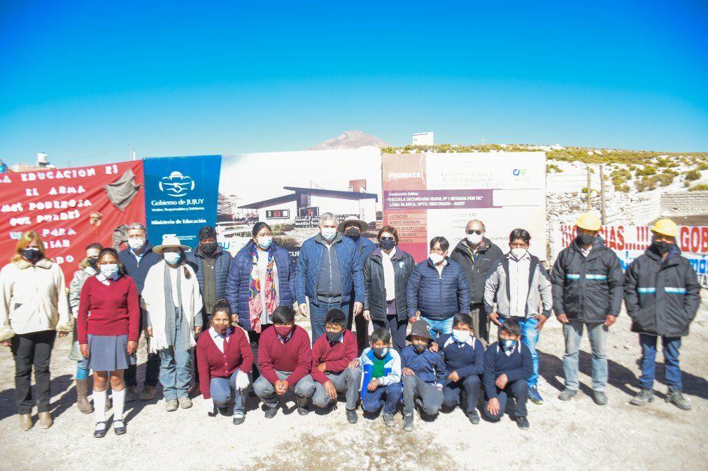 Inversión en infraestructura educativa de calidad para toda la provincia