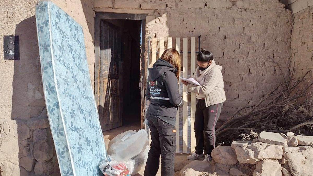 Familias de Humahuaca y Abra Pampa recibieron ayuda social