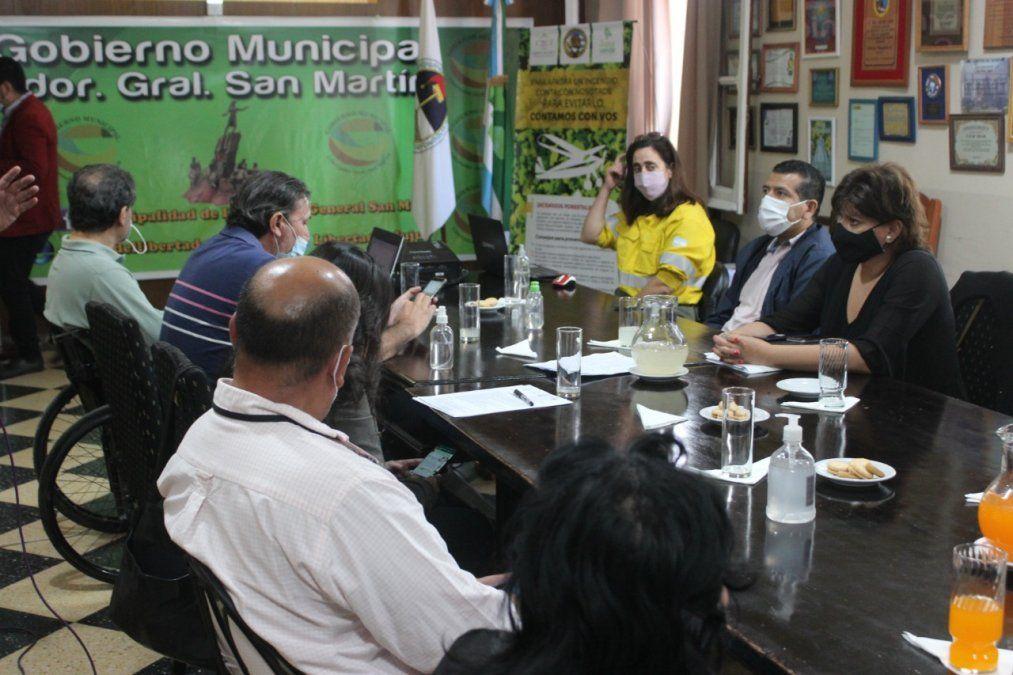 Presentación del Consorcio Regional Mixto de lucha contra Incendios de Pastizales y Bosques