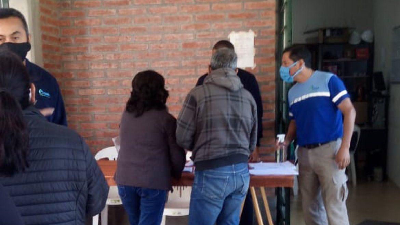 Agua Potable realiza operativos de gestiones en Lozano