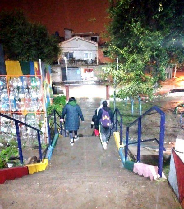 La Secretaría de Energía concretó obras de iluminación en el barrio capitalino