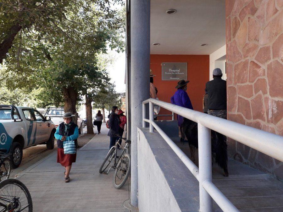 Hospital de Abra Pampa cuenta con termos de oxígeno propios