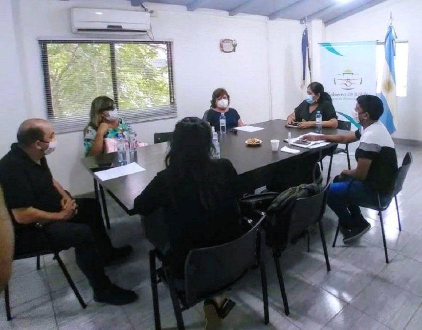 Reunión con autoridades del Rotary Club Jujuy y el Club Joven