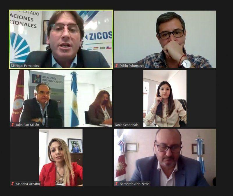 1º Reunión del Consejo de Relaciones Internacionales del NOA