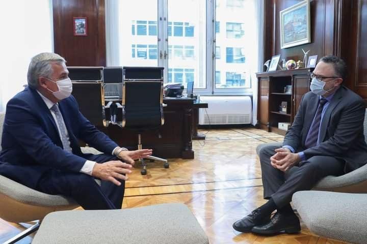 Morales se reunió con el ministro Kulfas