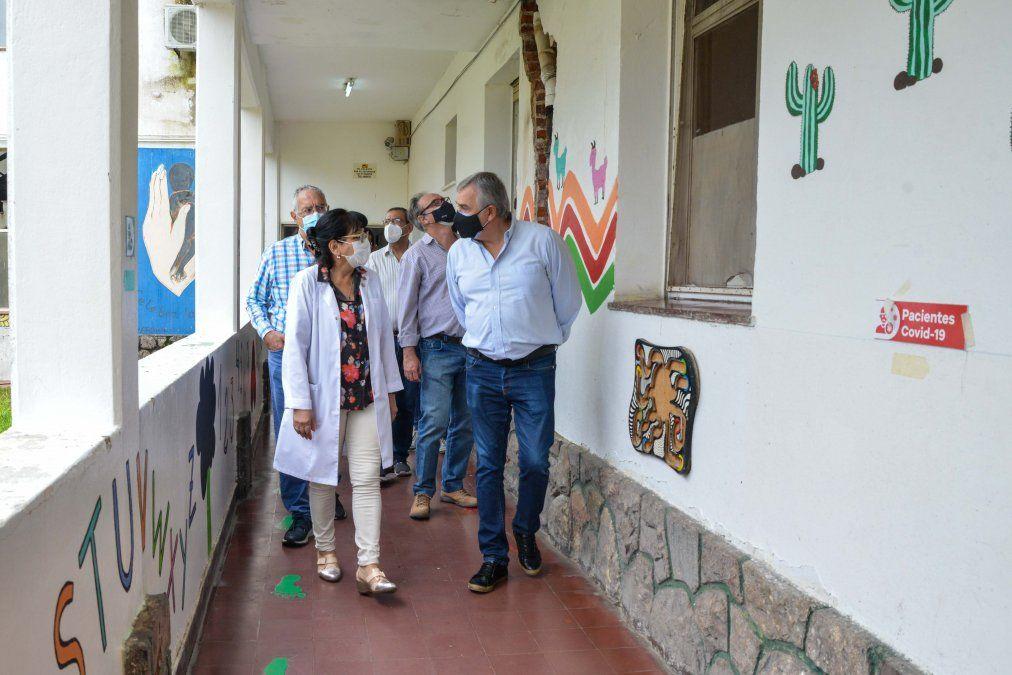 Morales recorrió Hospital Oscar Orías de Libertador Gral. San Martín