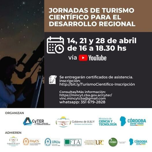 Jornadas Turismo Científico