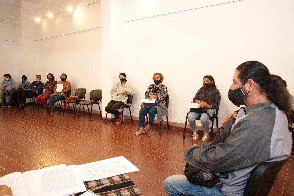 Artesanos y artesanas de distintos puntos de la Provincia participaron del encuentro en el Museo Histórico Provincial