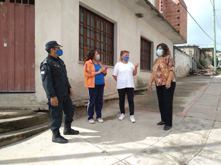 Seguridad: Reunión con vecinos de la localidad de Carahunco